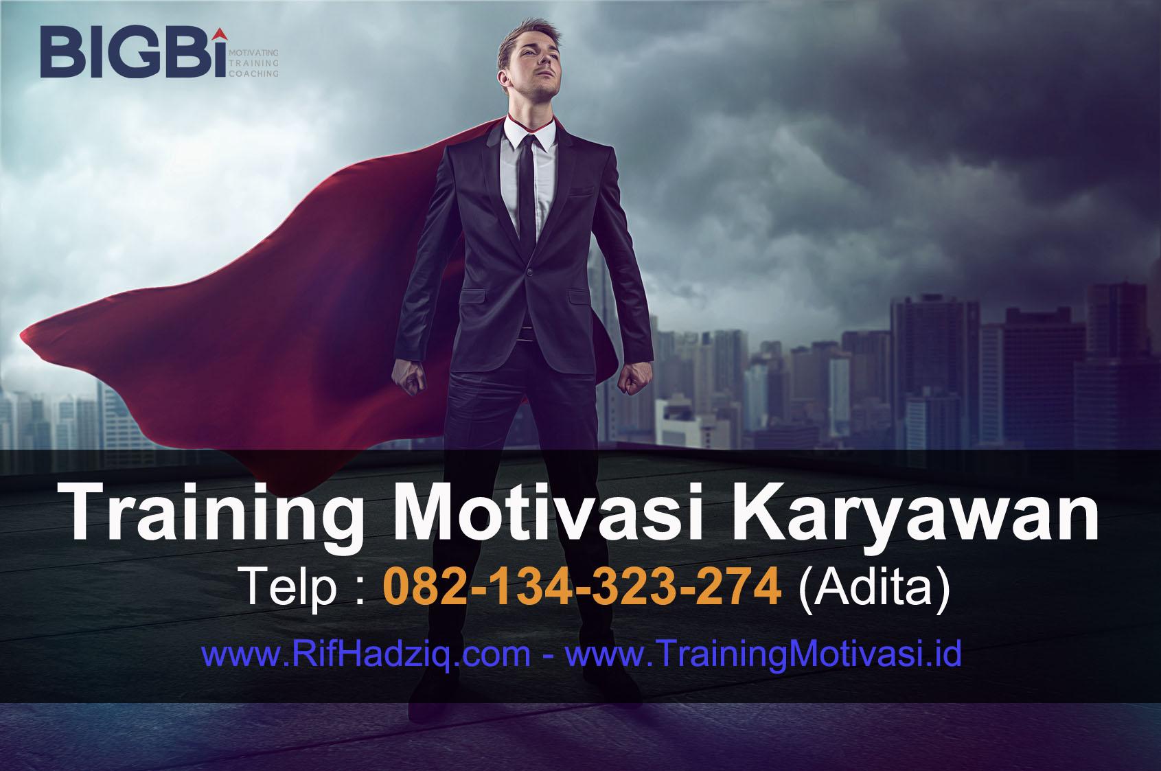 Motivator Indonesia, motivator perusahaan, rif hadziq, motivasi